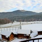 Зимна панорама в местността Предел