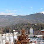 Зимна гледка от хотела