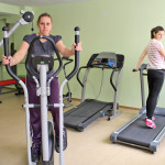 The fitness hall in complex Predel