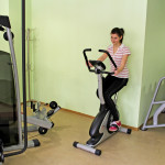 The fitness hall in Hotel complex Predel