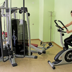 Our fitness hall has a variety of equipment