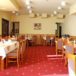 The restaurant of hotel complex Predel