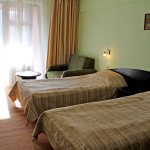 A double room in Hotel complex Predel