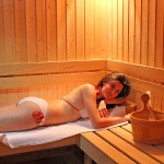 The sauna has an anti-stress effect