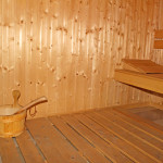The sauna of Hotel complex Predel