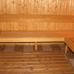 The sauna in Complex Predel