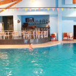 The pool-bar in hotel complex Predel