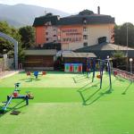 Детската площадка в хотелски комплекс Предел