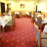 The restaurant - a great place for lunch and dinner